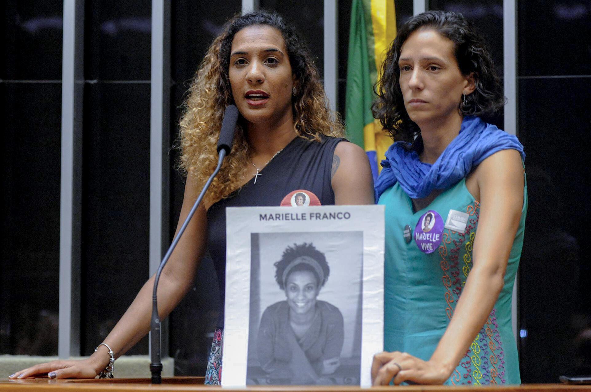 Anielle Franco participou em Paris da Cúpula Mundial dos Defensores de Direitos Humanos