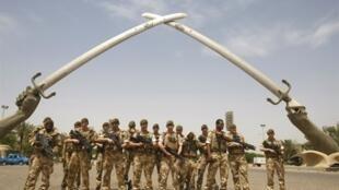 Soldados britânicos no Iraque, em 2009. No auge da operação, a missão da Royal Navy chegou a ter 46 mil homens no país.