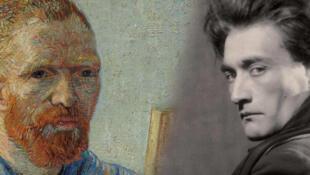 Vincent van Gogh et Antonin Artaud (Montage)