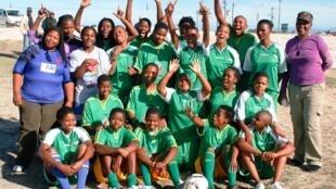 L'équipe Lulekisizwe au grand complet