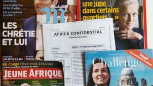Capas de magazines news franceses de 02 de junho de 2017