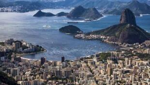 La bahía de Guanabara en Río de Janeiro.