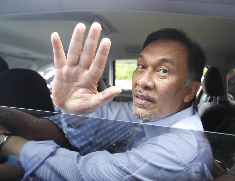 Kiongozi wa upinzani nchini Malaysia Anwar Ibrahim