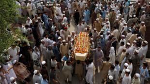 L'ANP a été la cible d'un attentat suicide revendiqué par les talibans pakistanais, lors d'un meeting à Peshawar, Le 11 juillet 2018.