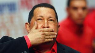 Hugo Chavez, en mars 2012.