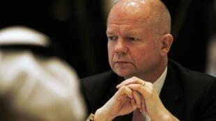 O ministro das Relações Exteriores britânico, William Hague, participa de fórum sobre segurança regional em Manama, no Bahrein.