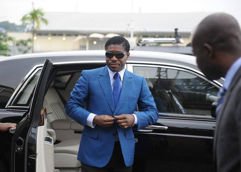 Teodorin Nguema Obiang Mongue, mataimakin shugaban kasar Equatorial Guinea a Malabo 2013