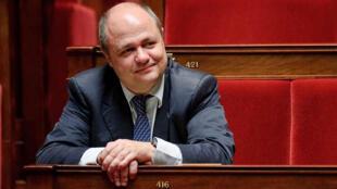 Bruno Le Roux, président du groupe socialiste, républicain et citoyen (SRC) à l'Assemblée nationale.