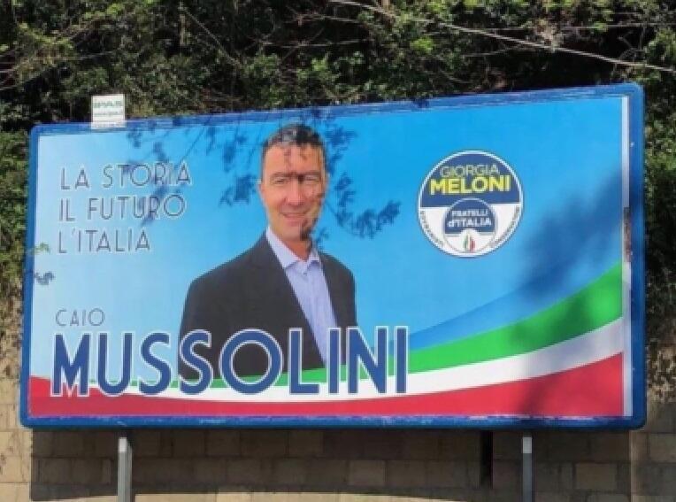 Imagem do vídeo do lançamento da campanha Caio Julius Caesar Mussolini