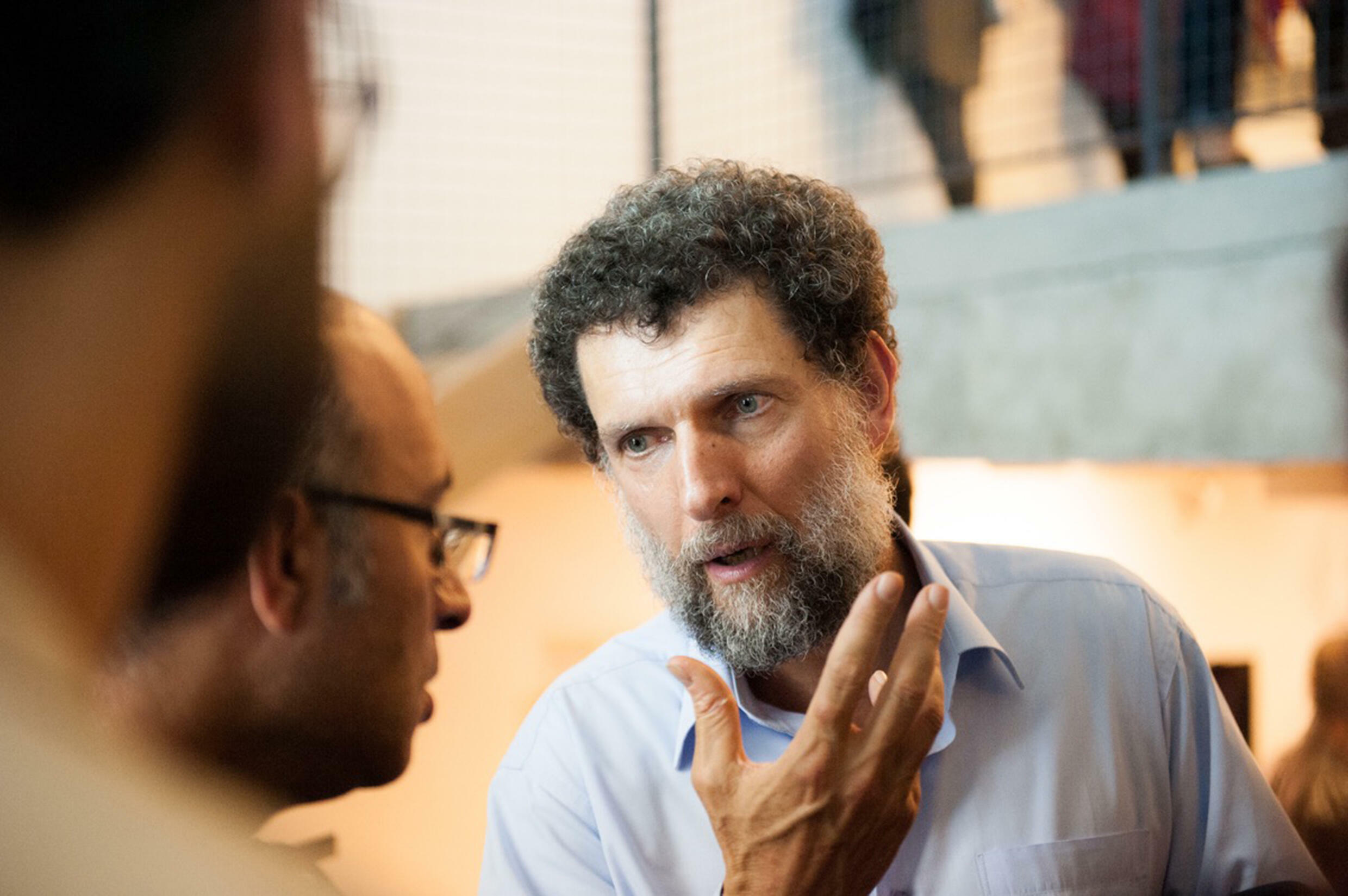 Parisian-born philanthropist and activist Osman Kavala, 64, has been in jail without a conviction since 2017