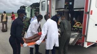 Les militaires ivoiriens blessés à Kafolo rapatriés à Abidjan, le 11 juin 2020.