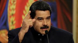 លោក Nicolas Maduro ប្រធានាធិបតីវ៉េណេស៊ុយអេឡា