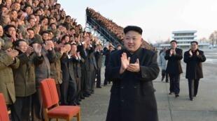 Le numéro un de la Corée du Nord Kim Jong-un.