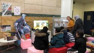 Atelier de prévention sur l'usage des jeux vidéo à destination des enfants et de leurs parents, à la Ludothèque de Clamart (92), en partenariat avec l'organisme Pédagojeux.