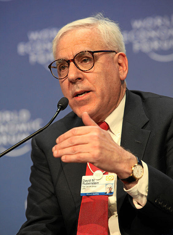 David M. Rubenstein, cofondateur du fonds d'investissement Carlyle Group.