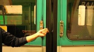 Vagón del metro de París. Foto de ilustración.