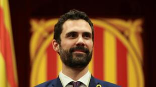 Глава парламента Каталонии Роже Торрен.