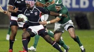 матч между сборными США и Ирландии