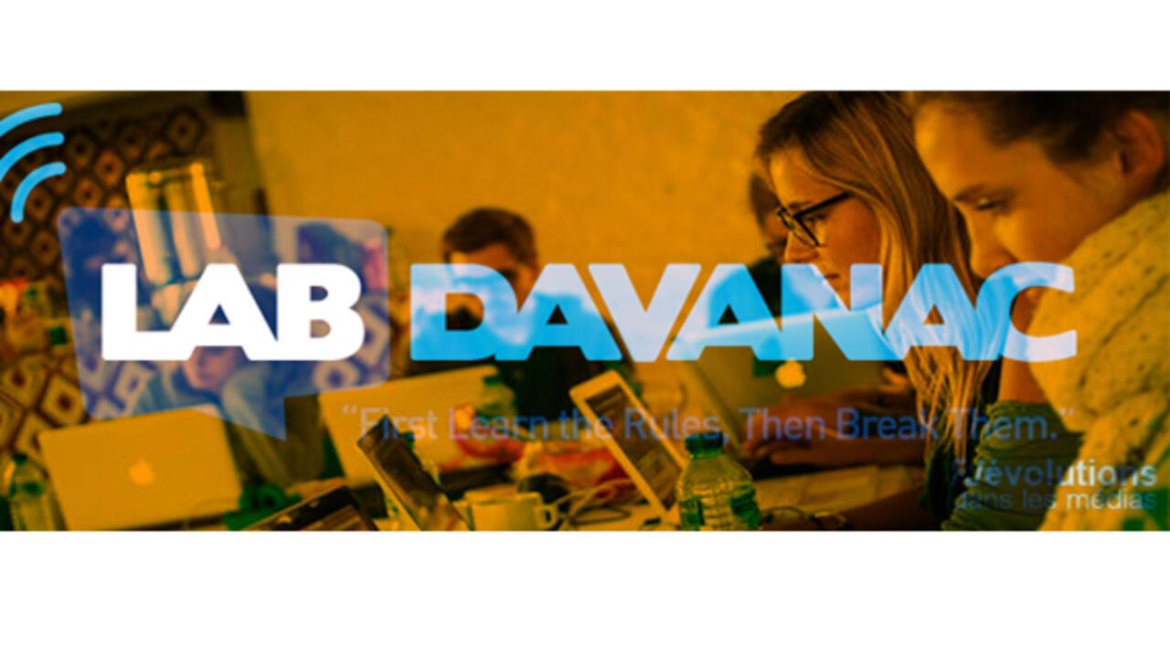 Atelier des médias - 1 - Damien Van Achter et son Lab Davanac