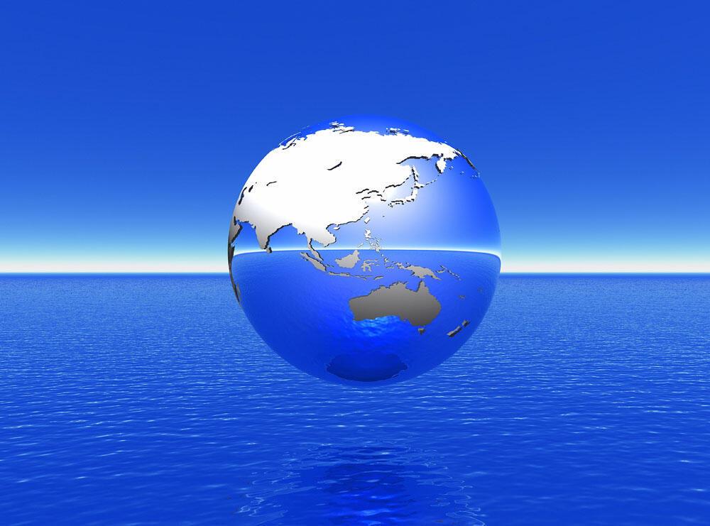 圖為地球與海洋報道圖片