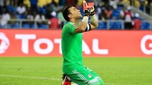 Essam El Hadary saved two strikes in the penalty shootout against Burkina Faso.