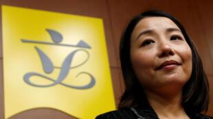 Hồng Kông : Nghị sĩ không được Bắc Kinh công nhận, Lưu Tiểu Lệ (Lau Siu-lai), trong cuộc họp báo ngày 30/11/2016.