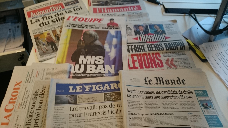 Diários franceses 10.05.2016