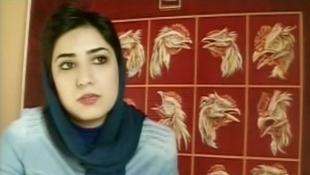 آتنا فرقدانی-هنرمند و فعال حقوق بشر