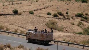 Erythrée Tigré Ethiopie troupes militaires