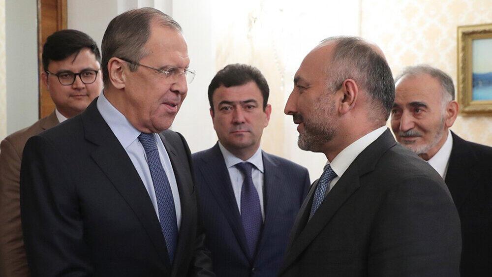 Lavrov_Atmar_ MAE de Russie et Afganistan