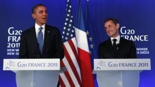 Sarkozy pretende tirar um ganho eleitoral da entrevista com Obama.