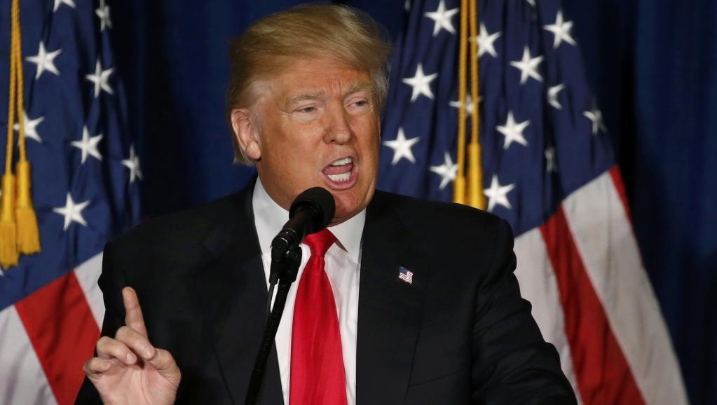 Washington, Aprili 27, 2016. Donald Trump alizungumzia kuhusu maono yake ya nafasi ya Marekani duniani.