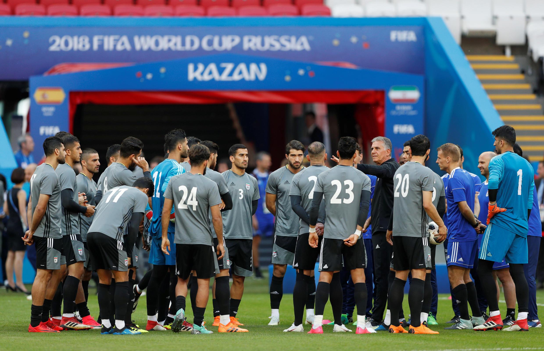 تیم ملی فوتبال ایران در دومین بازی مرحلۀ گروهی خود در جام جهانی، امروز ٢٠ ژوئن/ ٣٠ خرداد، در ورزشگاه کازان، مرکز جمهوری تاتارستان، در برابر اسپانیا قرار میگیرد.