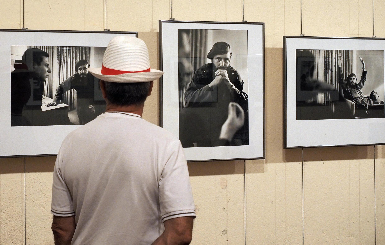 Fotos de Cuba, por Marc Riboud, em Perpignan.