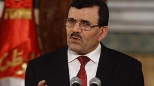 Le Premier ministre tunisien Ali Larayedh, le 27 août 2013, à Tunis.