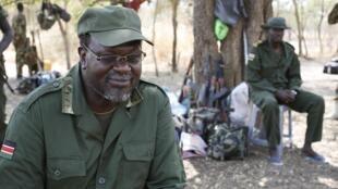 Kiongozi wa waasi nchini Sudan Kusini Riek Machar