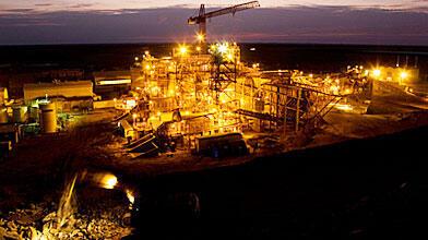 La mine d'or de Tasiast en Mauritanie est exploitée par Kinross Gold Corporation.
