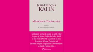 Couverture - Mémoires d'outre-vies - Jean-François Kahn - Idées