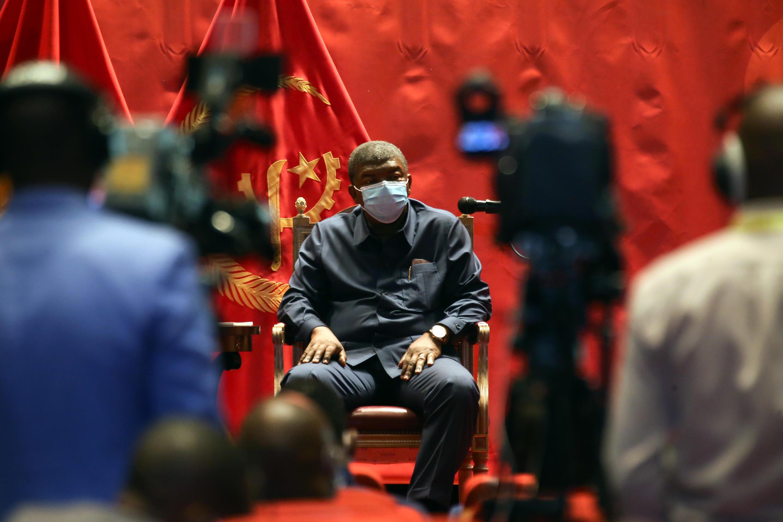 Presidente de Angola, João Lourenço.