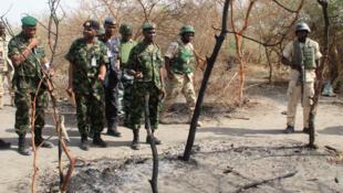 Sojojin Najeriya suna binciken wani sansanin mayakan Boko Haram a Kirenowa