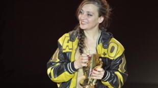 Catherine Ringer, giải  Victoires 2012 về giọng ca nữ xuất sắc nhất.