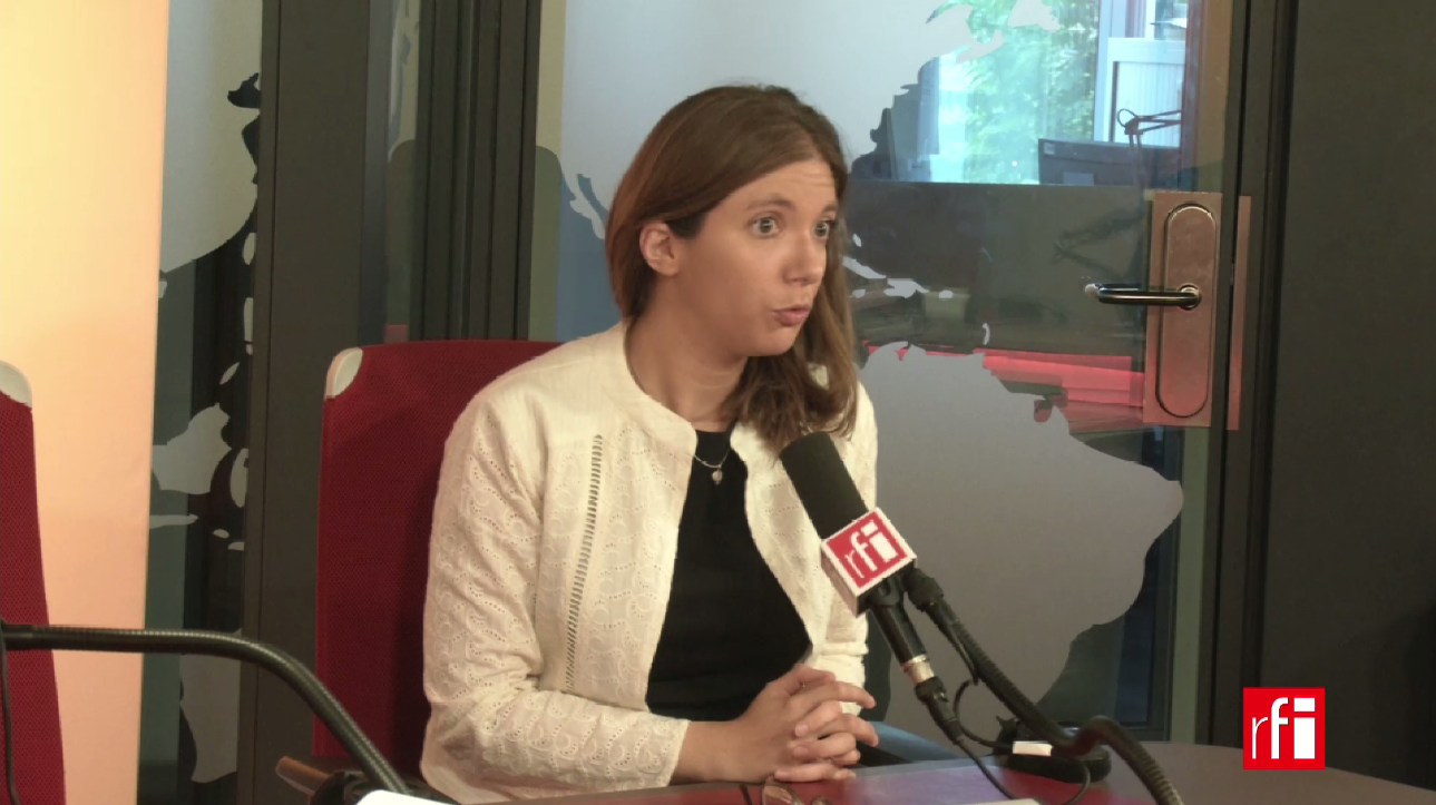 Aurore Bergé sur RFI le 01 août 2017.