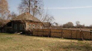 30 лет спустя после аварии на Чернобыльской АЭС в деревне Красная Гора всего два жителя.