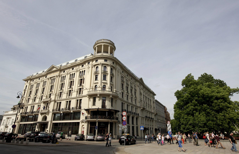 Отель Bristol в Варшаве, 24 мая 2012, Польша