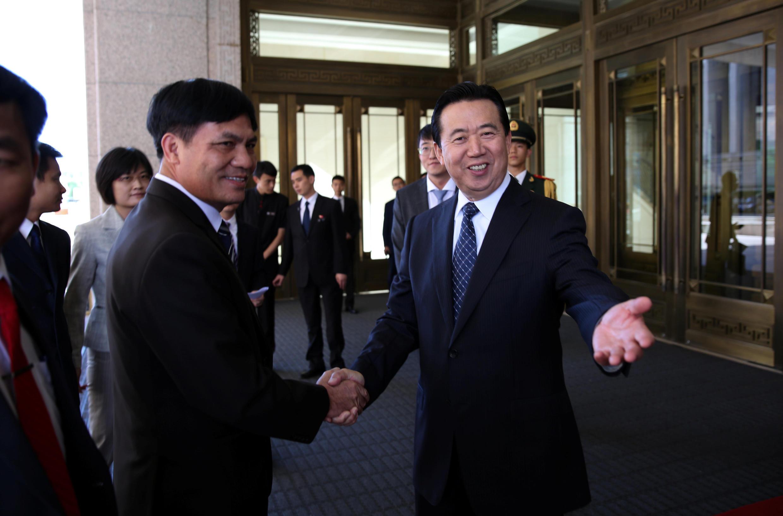 Ông Mạnh Hồng Vĩ, tân giám đốc Interpol.