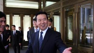 Meng Hongwei, the head of Interpol