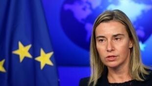 فدریکا موگرینی، مسئول سیاست خارجی اتحادیۀ اروپا