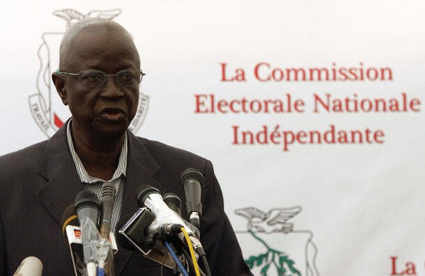 Ben Sekou Sylla, the late president of Guinea's presidential commission