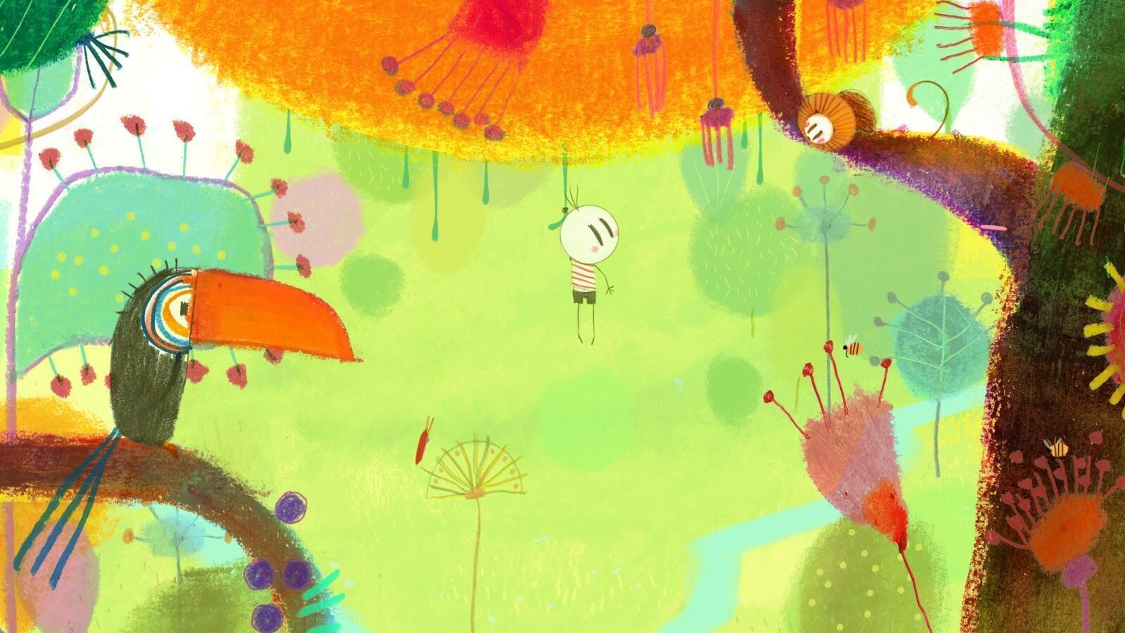 """Imagem do longa de animação """"O Menino e o Mundo"""", de Alê Abreu."""