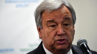 O secretário-geral da ONU, Antonio Guterres.